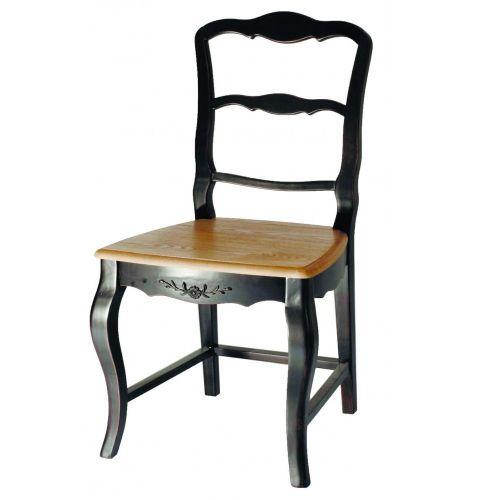 Стул с деревянным сиденьем