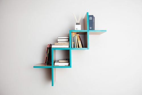 "Полка для гостиной ""Woo Shelf"" Беж"