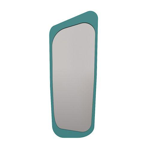 Большое зеркало Woodi Голубой