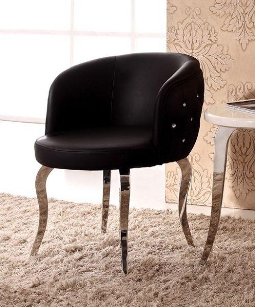 Кресло со стразами