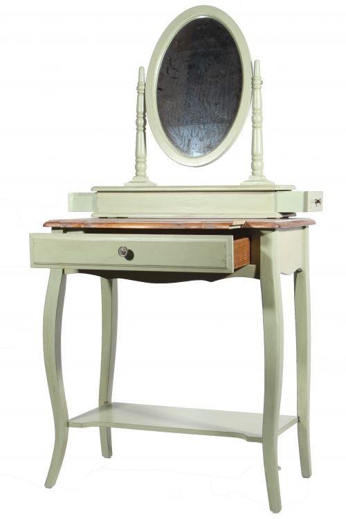 Макияжный столик с овальным зеркалом ST9321G