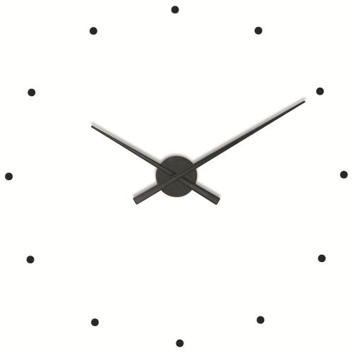 Часы Nomon OJ BLACK, d80см