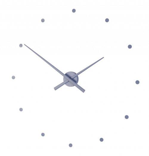 """Часы Nomon OJ ACERO(""""стальной"""" цвет), d80см"""