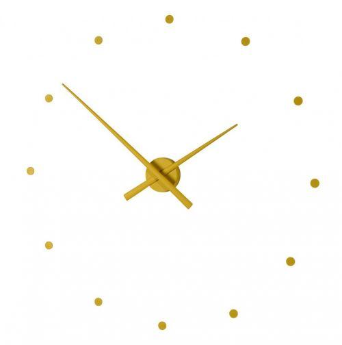 "Часы Nomon OJ mini MUSTARD(""горчичный"" цвет), d50см"