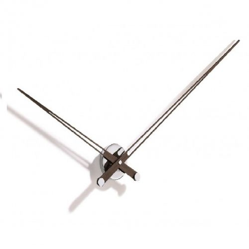 Часы Nomon AXIOMA N, chrome/wenge, d74см