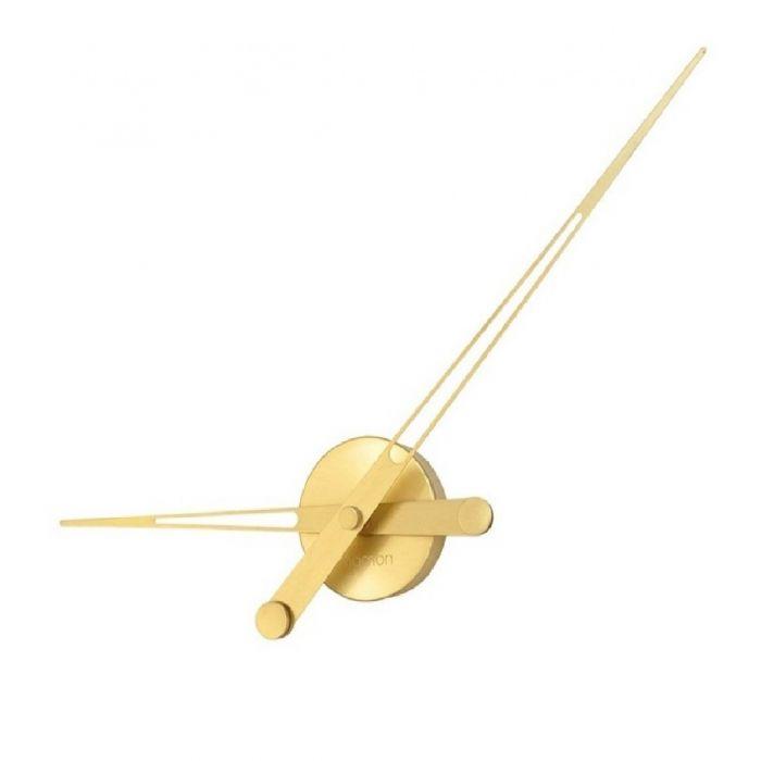 Часы Nomon AXIOMA GOLD, полированная латунь, d60см