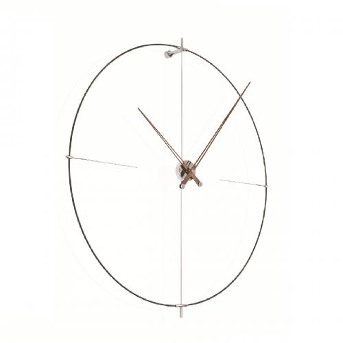Часы Nomon BILBAO N(black/walnut), d110см
