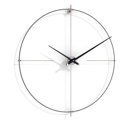 Часы Nomon BILBAO L(black/black), d110см