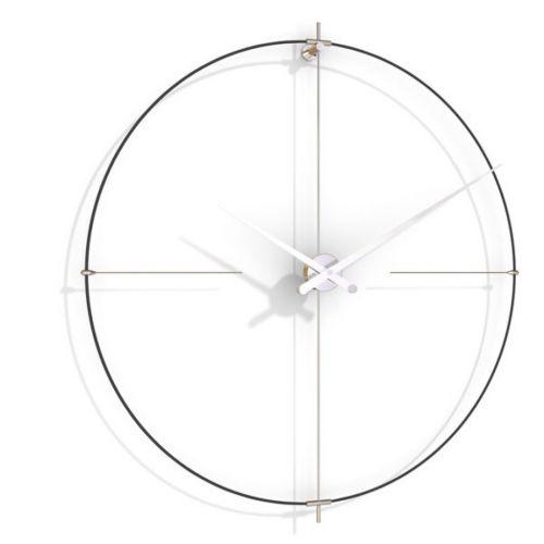 Часы Nomon BILBAO L(black/white), d110см