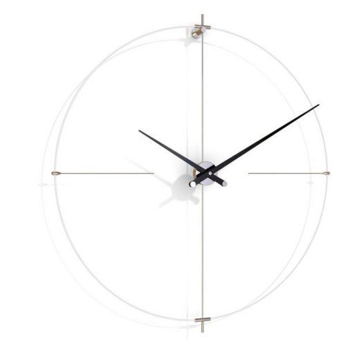 Часы Nomon BILBAO L(white/black), d110см