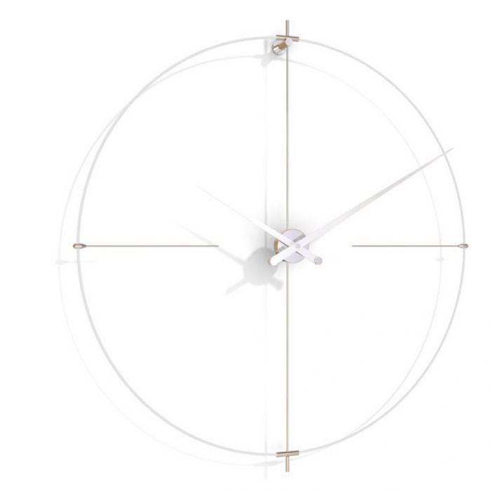Часы Nomon BILBAO L(white/white), d110см