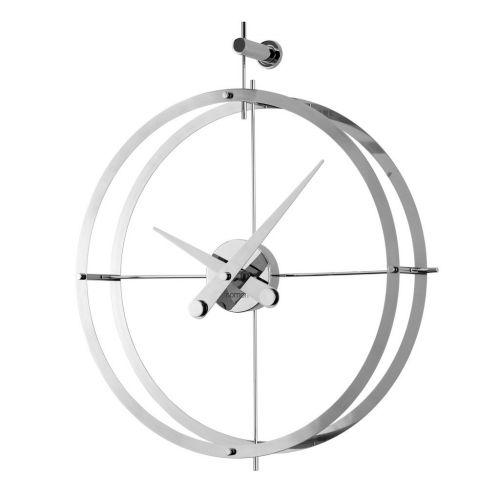Часы Nomon 2 PUNTOS i(DOS PUNTOS), d55см, chrome