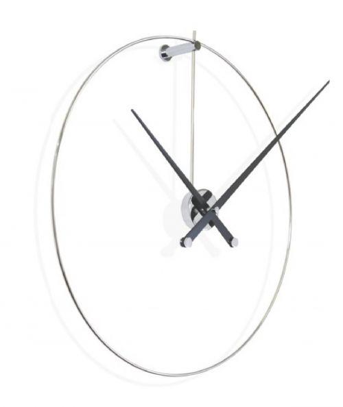 Часы Nomon New Anda, chrome/black, d100 см