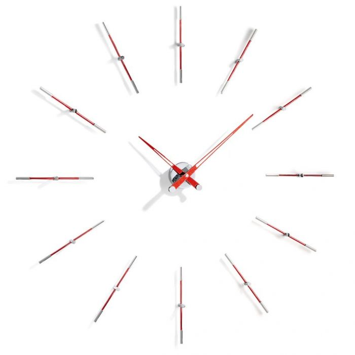 Часы Nomon Merlin 12 i RED, d110cm
