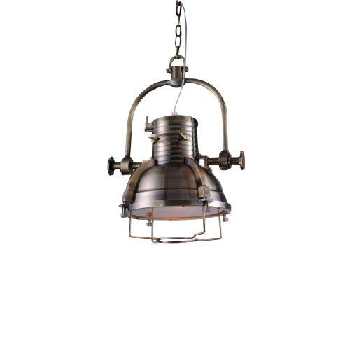 Подвесной светильник KM025 antique brass