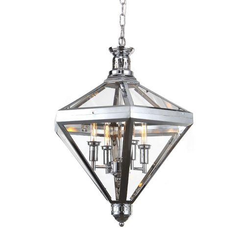Подвесной светильник Mistery 4 chrome