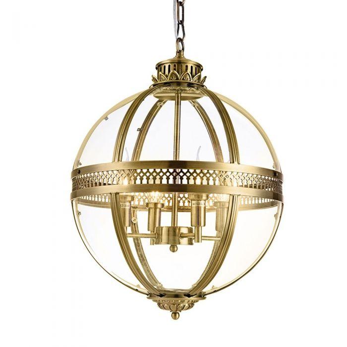 Подвесной светильник Residential 4 ant.brass