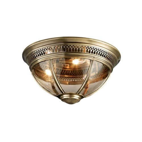 Потолочный светильник Residential 3 brass
