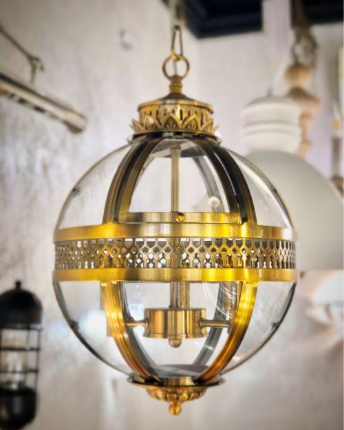 Подвесной светильник Residential 3 brass