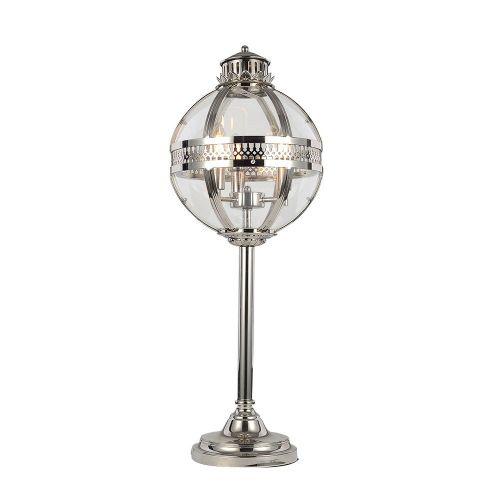 Настольная лампа Residential 3 nickel