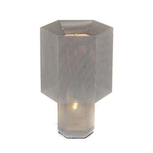 Настольная лампа KM0130P-1 silver