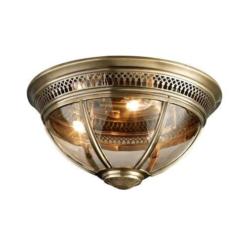Потолочный светильник Residential 4 brass