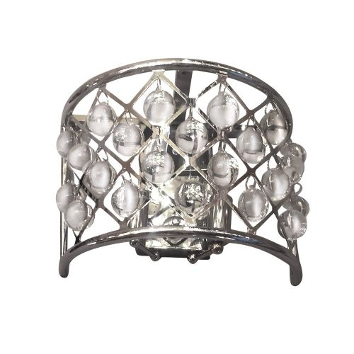 Настенный светильник Spencer 2 chrome
