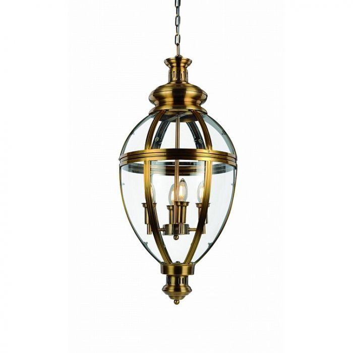 Подвесной светильник Arcadia 4 brass