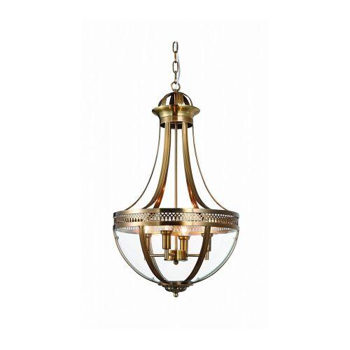 Подвесной светильник Capitol 4 ant.brass