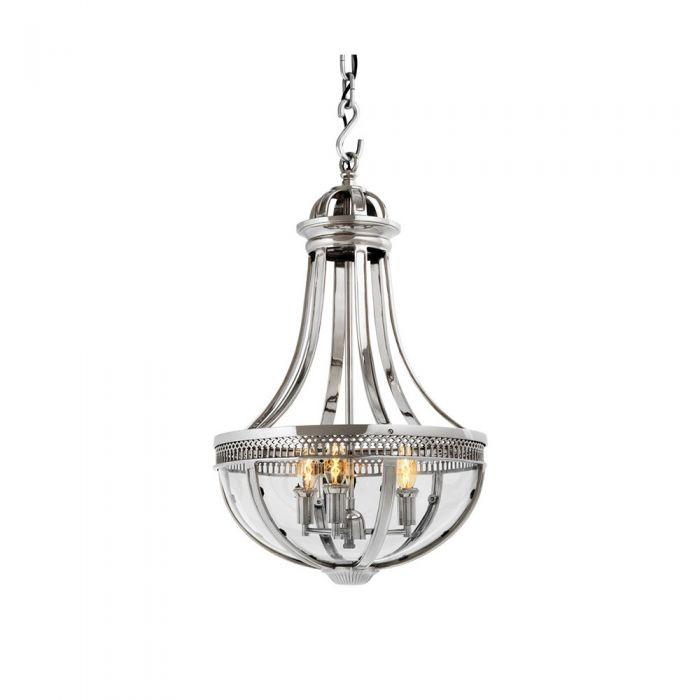Подвесной светильник Capitol 4 nickel