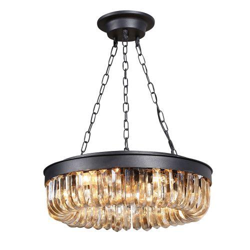 Подвесной светильник Crystal 5 black