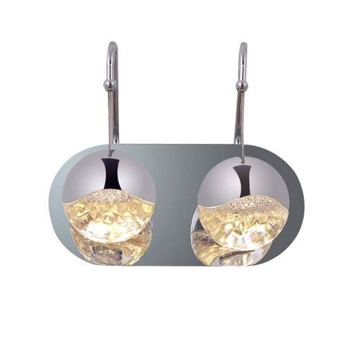 Настенный светильник Globo 2C nickel