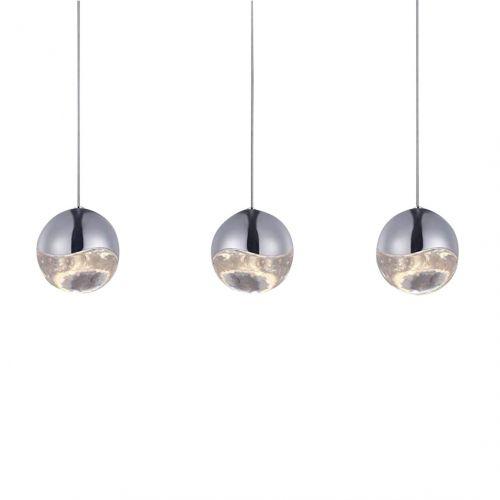 Подвесной светильник Globo 3 nickel