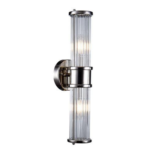 Настенный светильник Claridges 2 nickel