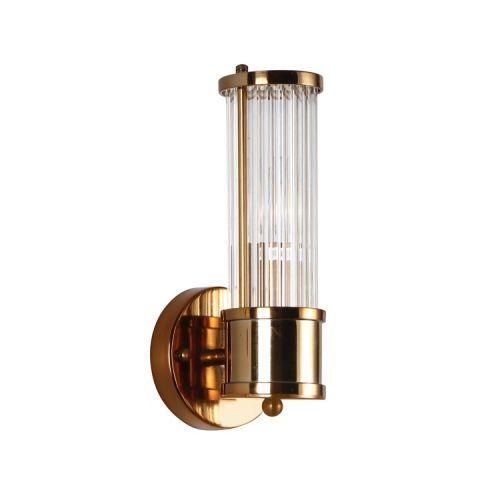 Настенный светильник Claridges 1 brass