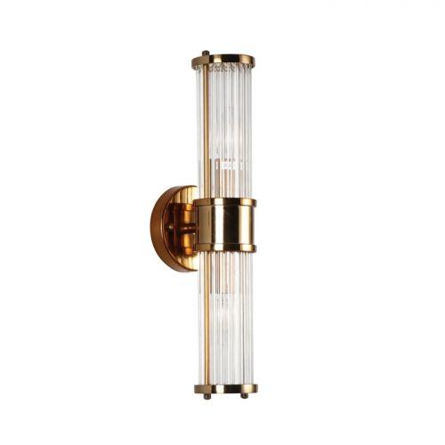 Настенный светильник Claridges 2 brass