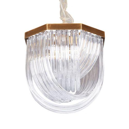 Подвесной светильник Murano L4 brass