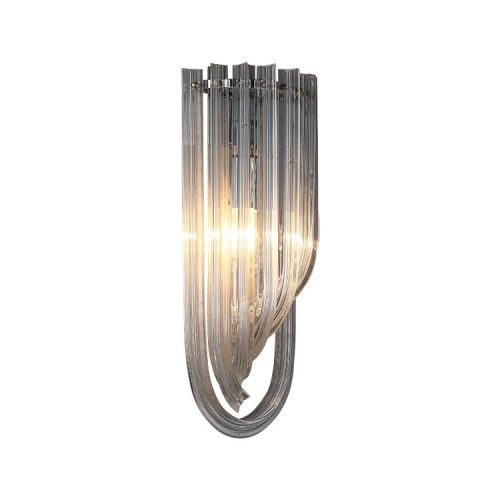 Настенный светильник Murano chrome