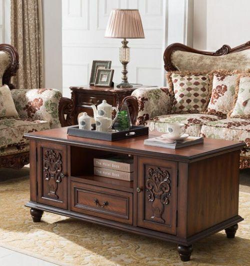 Журнальный стол Cilan, коричневый
