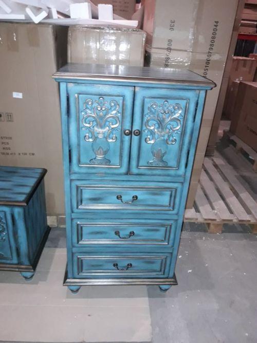 Буфет Cilan, ретро синий
