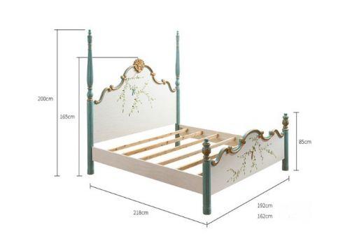 Кровать Fleur chantante, Голубая