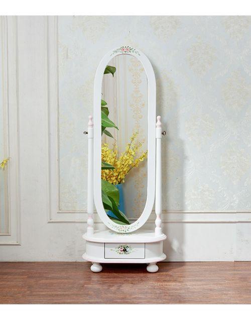 Напольное зеркало Fleur chantante, Белый цветок