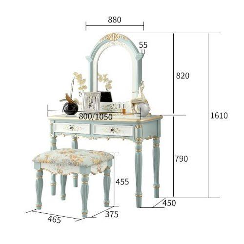 Туалетный столик Fleur chantante 105, Розовый