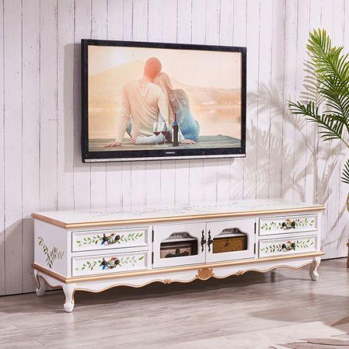 Тумба под TV Fleur chantante, Белая