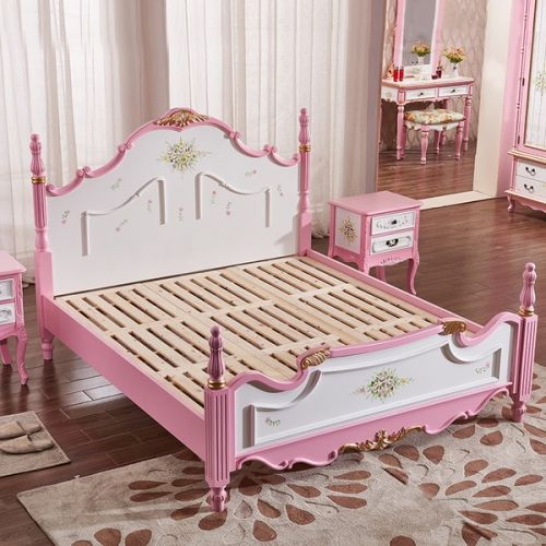 Кровать Fleur chantante, Розовая