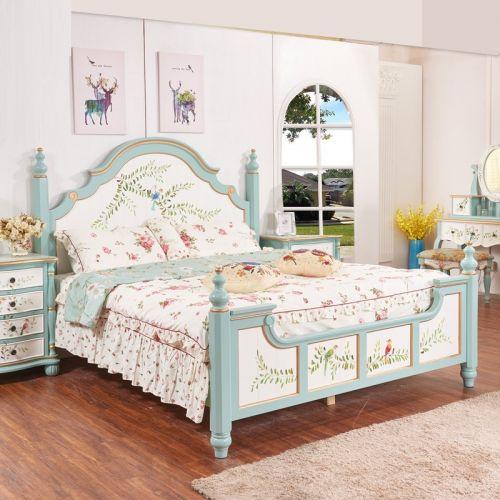 Кровать двухместная Fleur chantante, Птицы