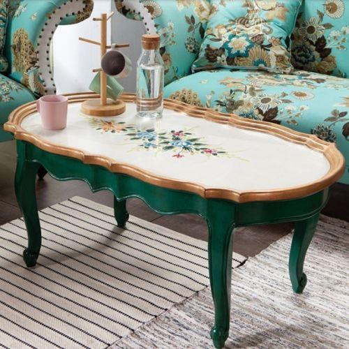 Овальный столик Fleur chantante, Лето
