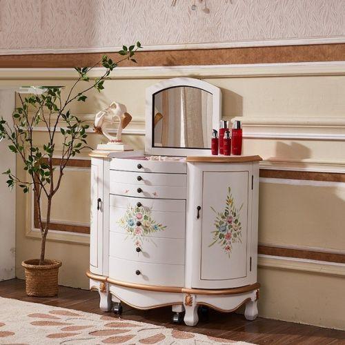 Туалетный столик-комод Fleur chantante, Белое золото