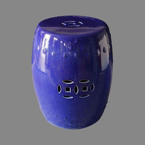 Табурет керамический  TJC10, Синий