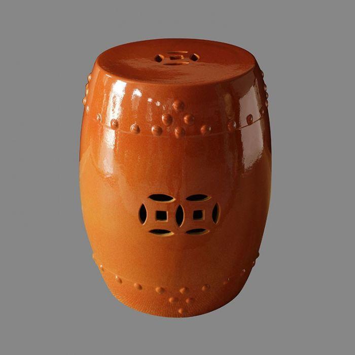 Табурет керамический  TJC10, Терракотовый